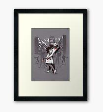 Z-Day Framed Print