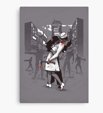 Z-Day Canvas Print