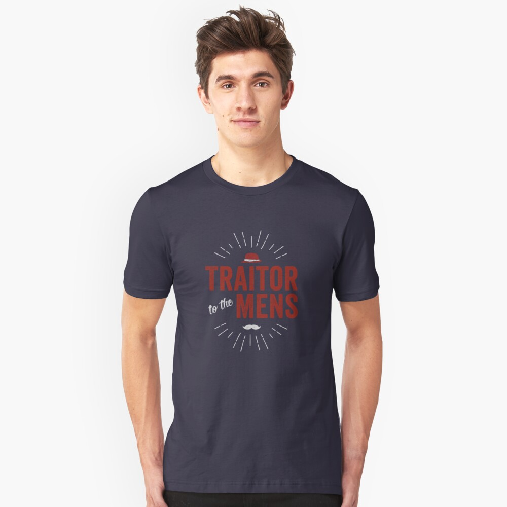 Traitor to the Mens (Dark) Unisex T-Shirt Front