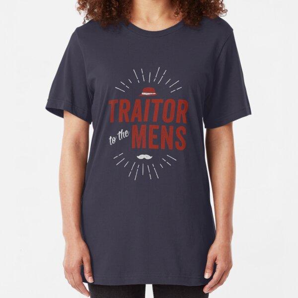 Traitor to the Mens (Dark) Slim Fit T-Shirt