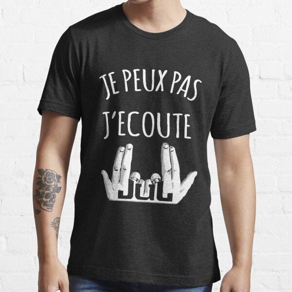 Je peux pas j'écoute JUL T-shirt essentiel