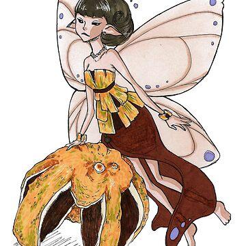 Orange Fairy by leannemarie