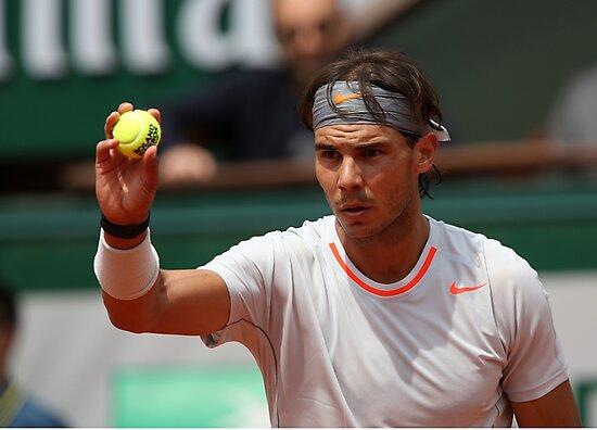 Rafael Nadal by Srdjan Petrovic