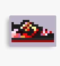 8-bit Kicks (Pushead) Canvas Print