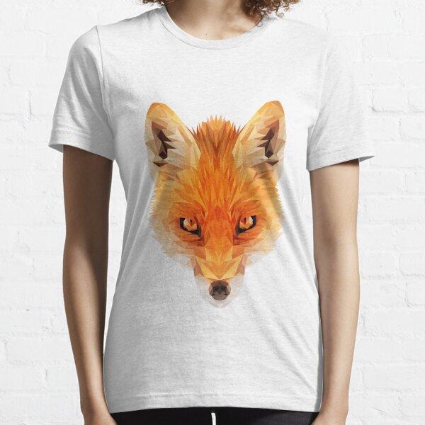 Fox Low-poly Essential T-Shirt
