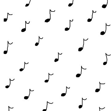 music notes by skiffthug