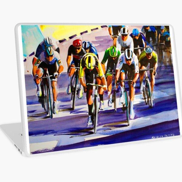 Wout Van Aert Passes Cees Bol Sprint Finish  Laptop Skin