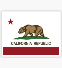 California Republic Flag Sticker