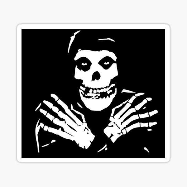 Misfits Cool Art Sticker