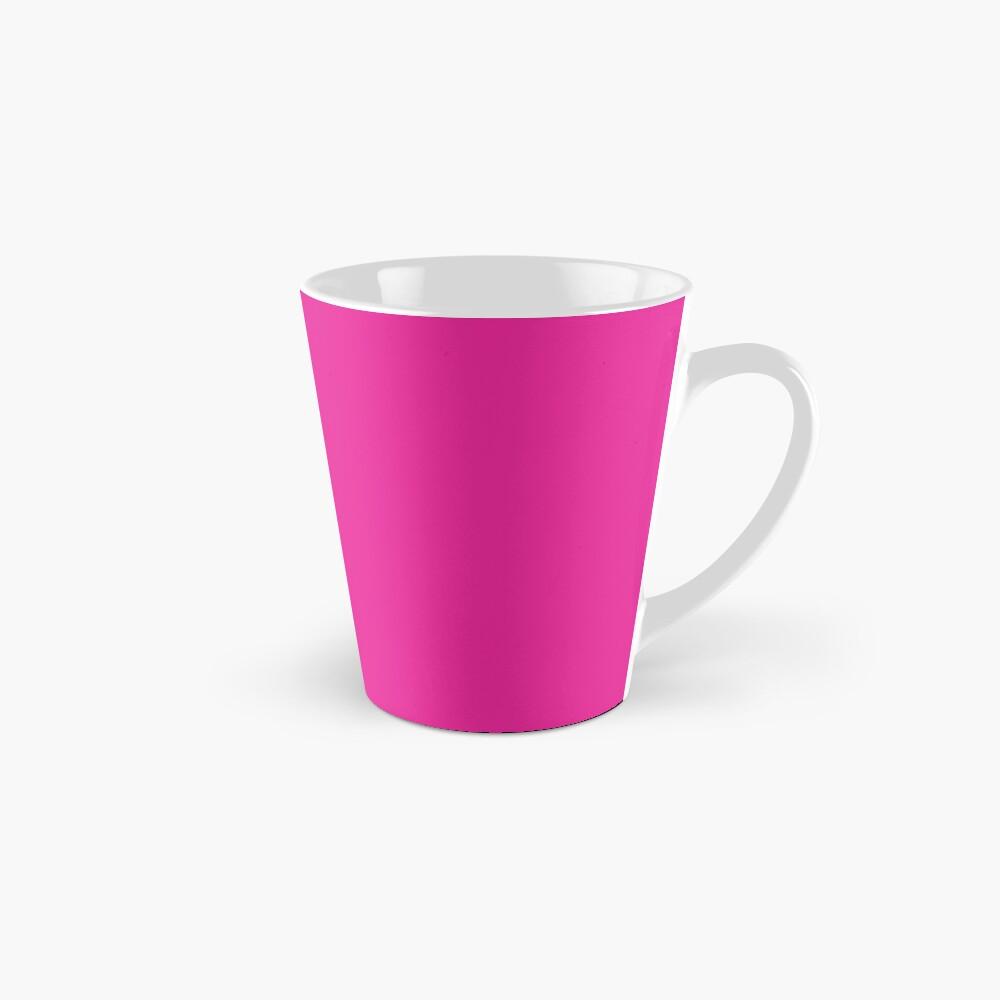 Sprouse inspired-Rose & Splattered Spray Paint- hot pink Mug