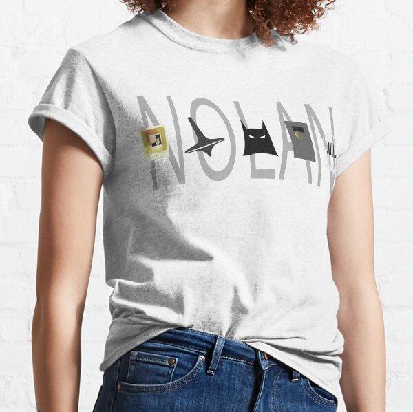 Icônes de film Christopher Nolan T-shirt classique