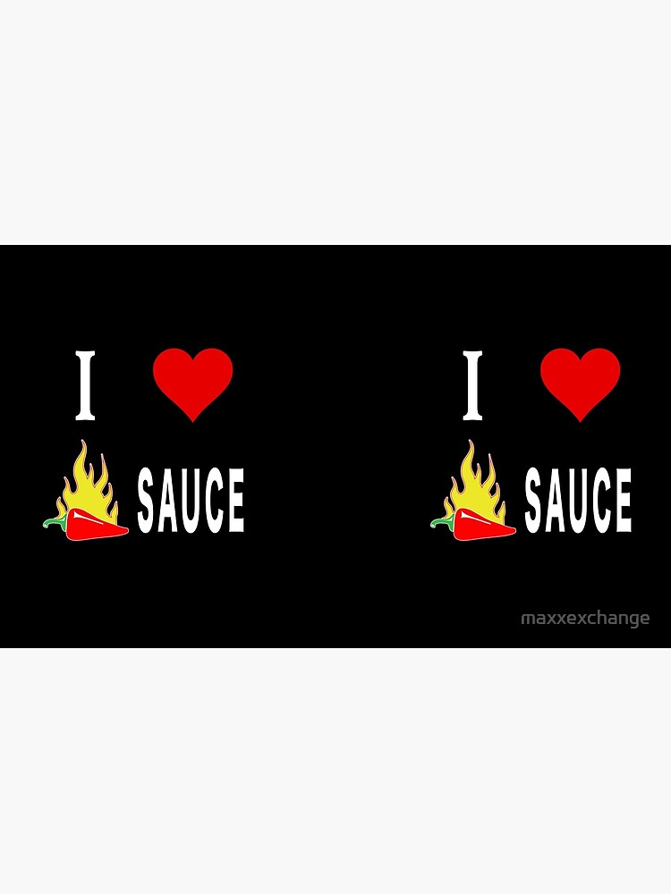 I Love Spicy Habanero Pepper Chicken Wings Sauce. by maxxexchange