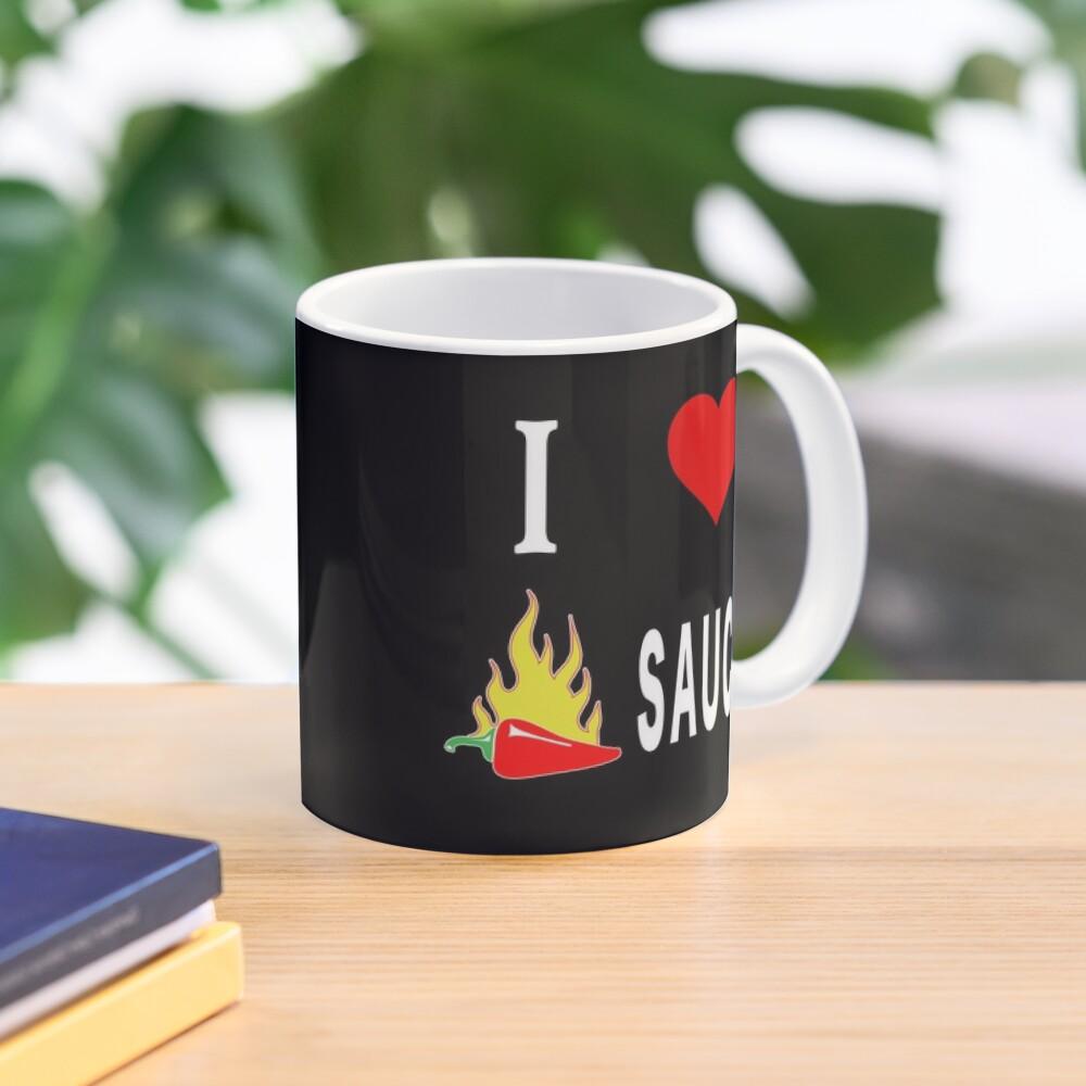 I Love Spicy Habanero Pepper Chicken Wings Sauce. Mug