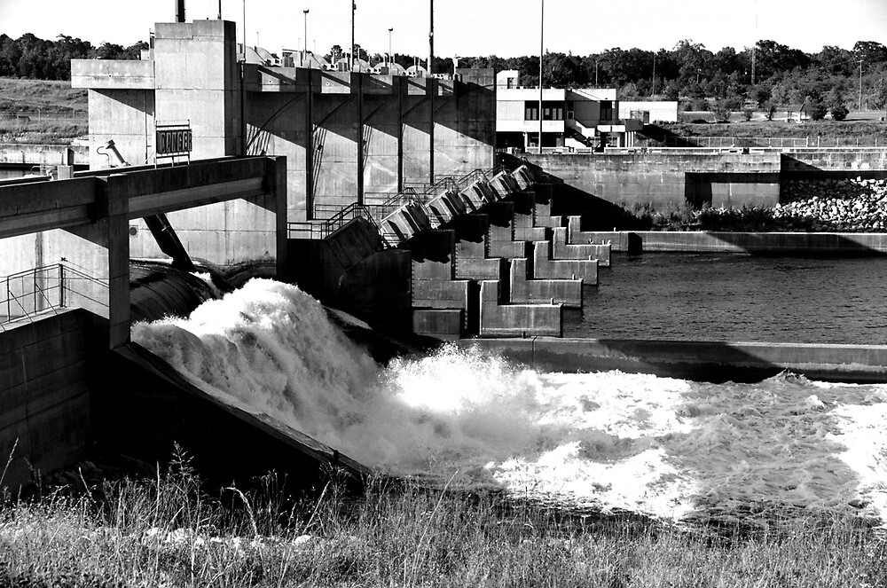 Red River Dam by Emily Rose