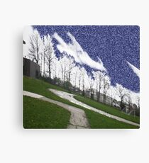 Filtered outdoors Canvas Print