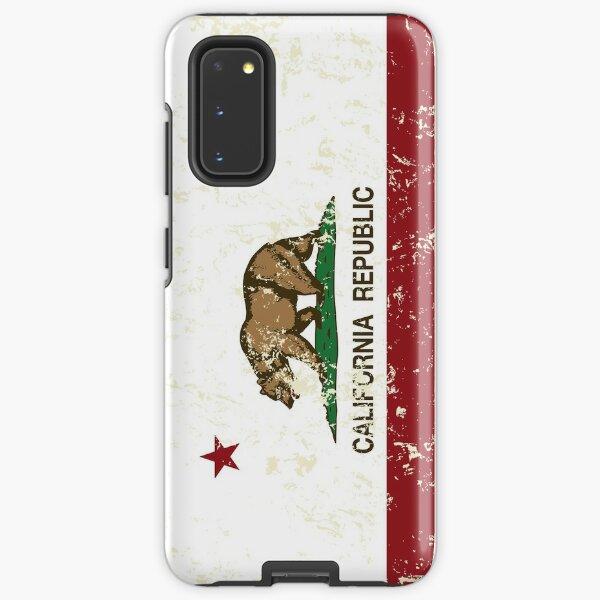 California Republic Grunge Distressed  Samsung Galaxy Tough Case