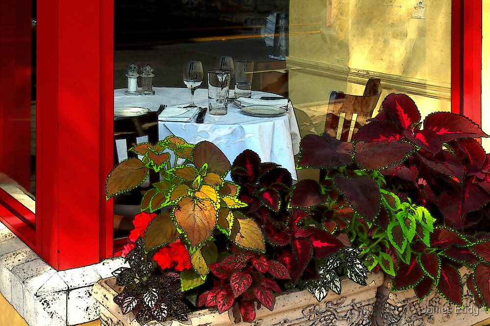 Table In The Window by James Eddy