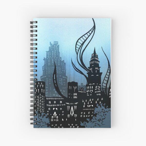 Amaurot - Inktober Spiral Notebook