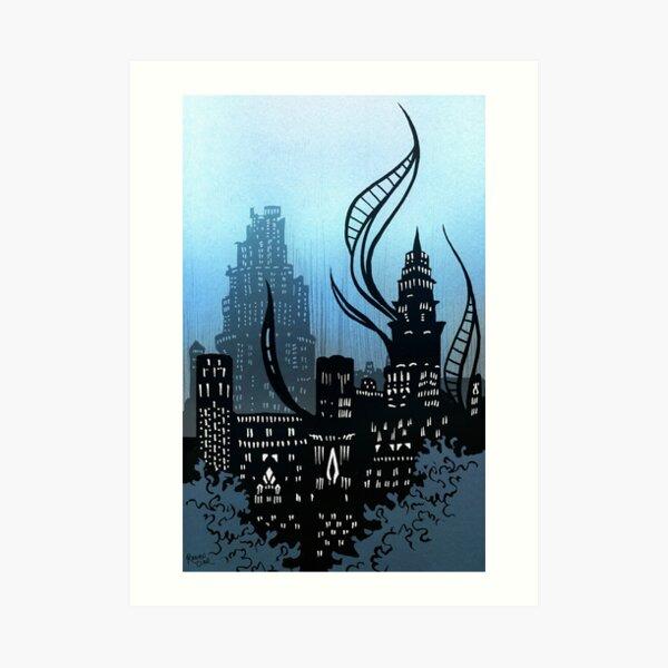 Amaurot - Inktober Art Print