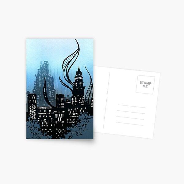 Amaurot - Inktober Postcard
