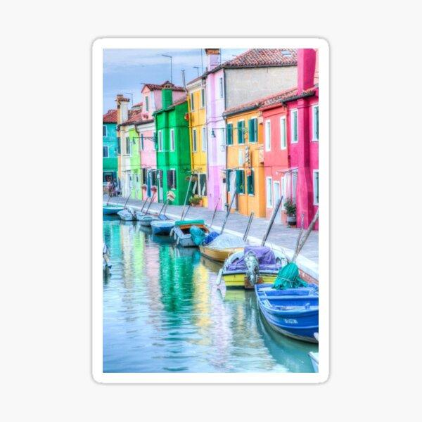 Burano Italy Sticker