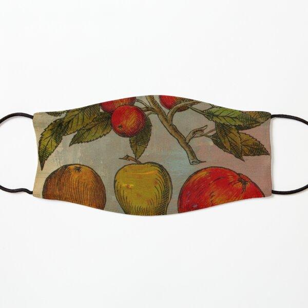 Botanical Print-Fruit Botanicals-Apples-Pears Kids Mask