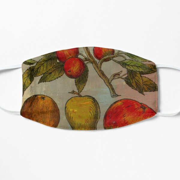 Botanical Print-Fruit Botanicals-Apples-Pears Small Mask
