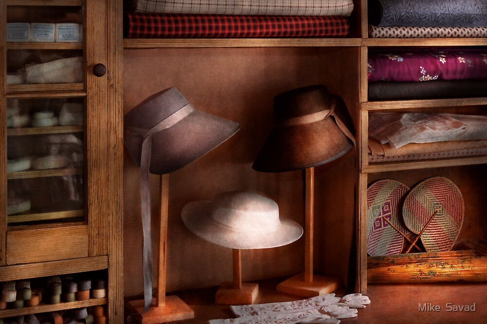 Fashion - Hats on sale by Michael Savad