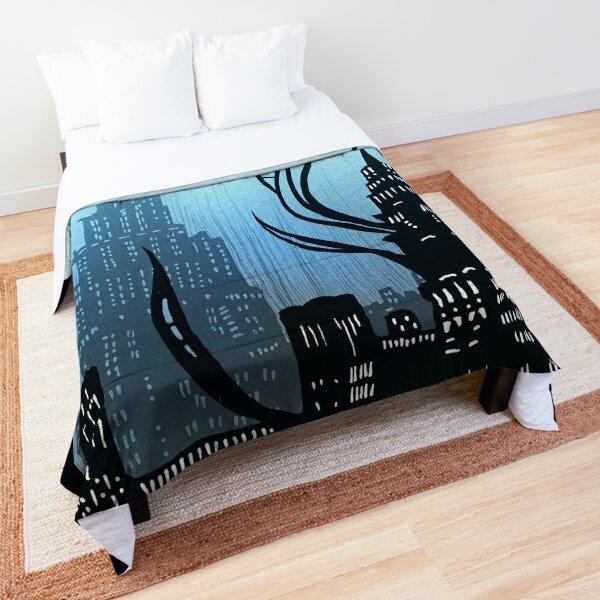 Amaurot - Inktober Comforter