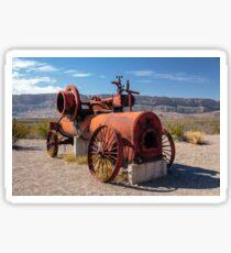Steam Engine Irrigation Pump Sticker