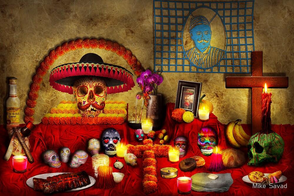 Los dios muertos - Rembering loved ones by Michael Savad