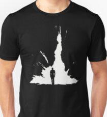 Walking Away From an Explosion Unisex T-Shirt
