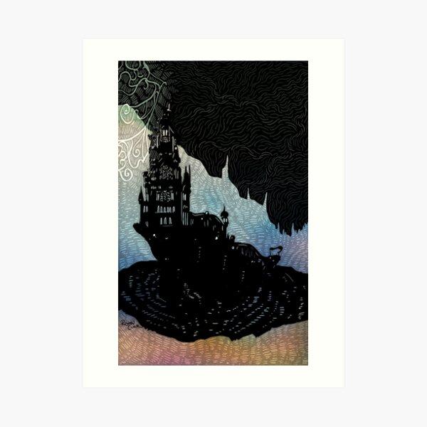 Il Mheg - Inktober Art Print