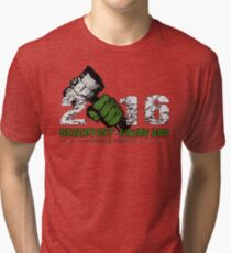 Scientist & Viking god of Thunder Tri-blend T-Shirt