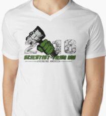 Scientist & Viking god of Thunder Men's V-Neck T-Shirt