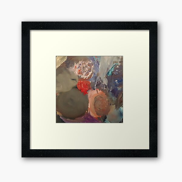 Peace In The Storm Framed Art Print