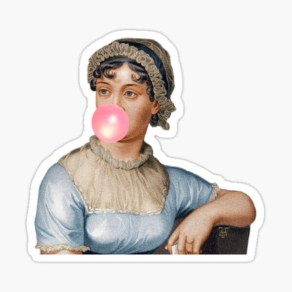 Jane Austen- Obstinate Headstrong Girl Sticker