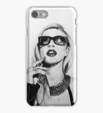 Iggy Azalea- Black and White iPhone Case/Skin