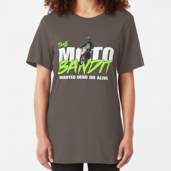 The Moto Bandit - Movie Parody - The Place Beyond The Pines Slim Fit T-Shirt
