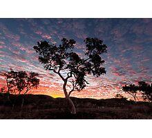Pilbara  Sunset Photographic Print