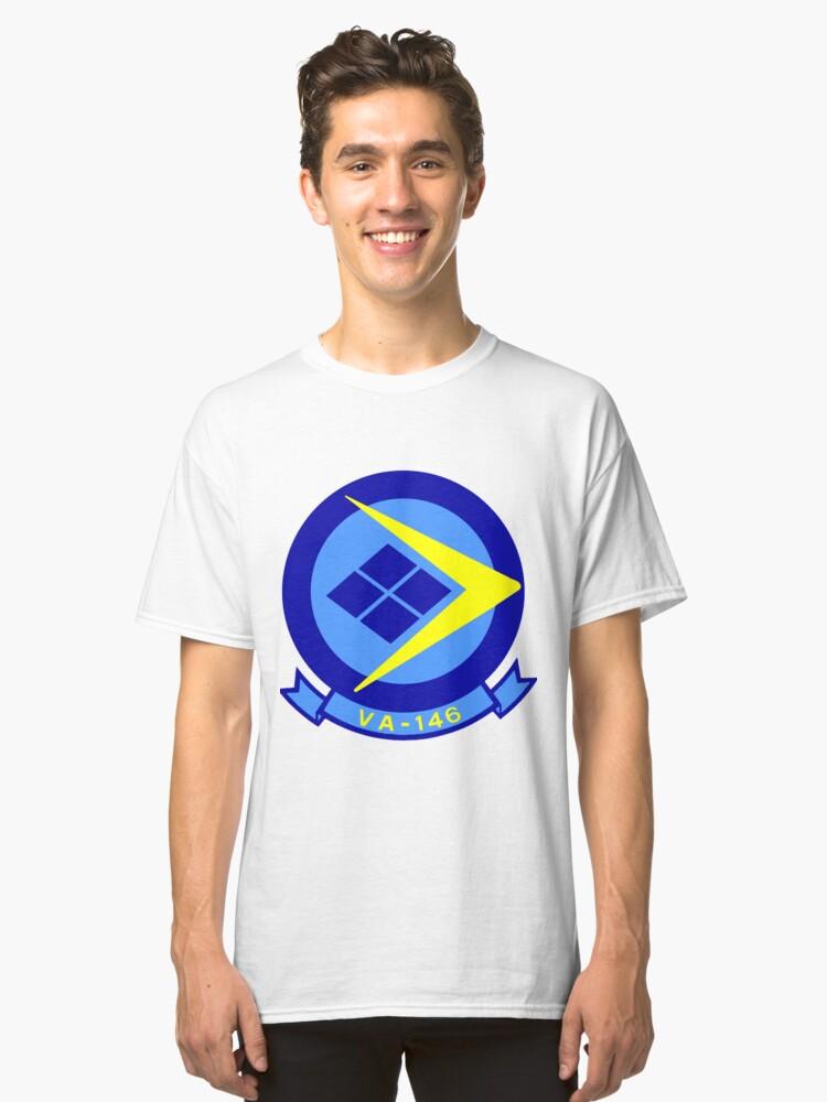 VA 146 Blue Diamonds Classic T-Shirt Front