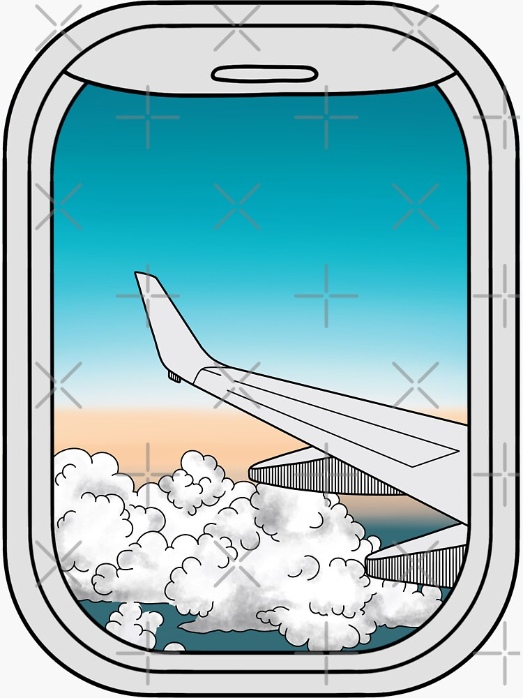 Airplane Window  by jamiemaher15