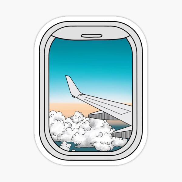 Airplane Window  Sticker