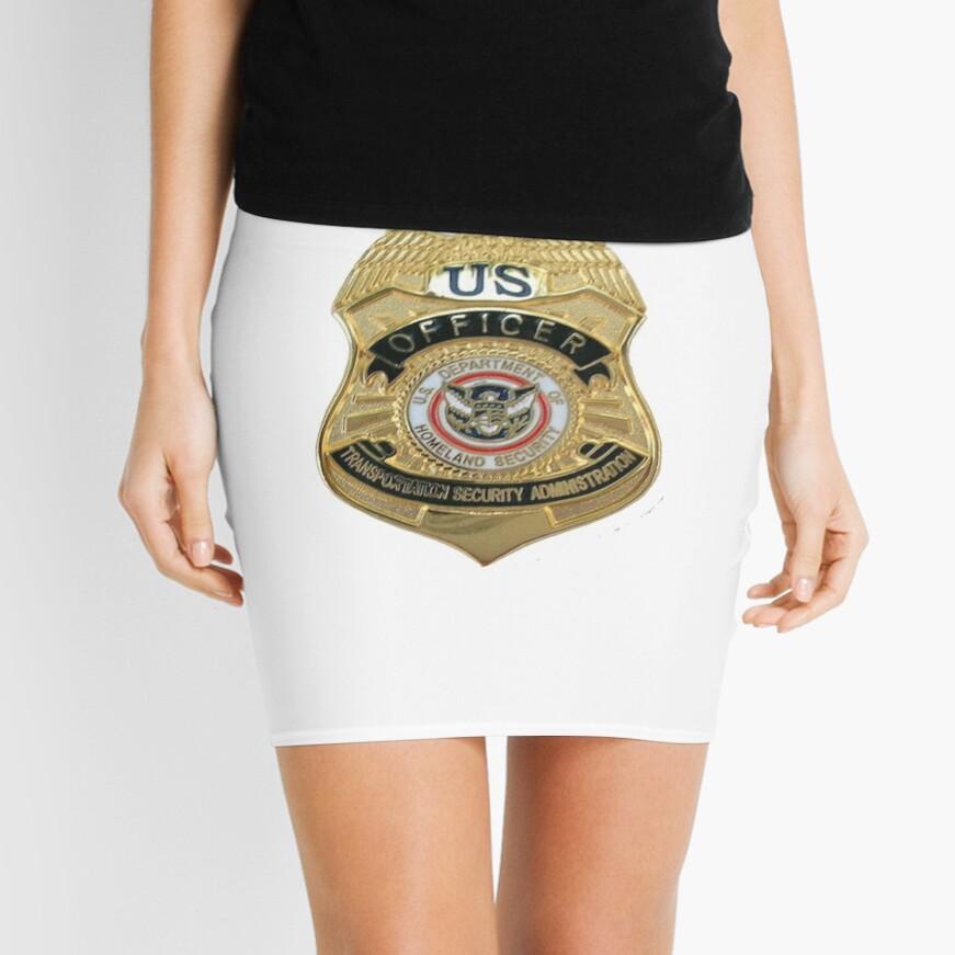 Transportation Security Administration TSA Mini Skirt