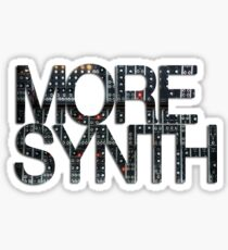 more synth Sticker