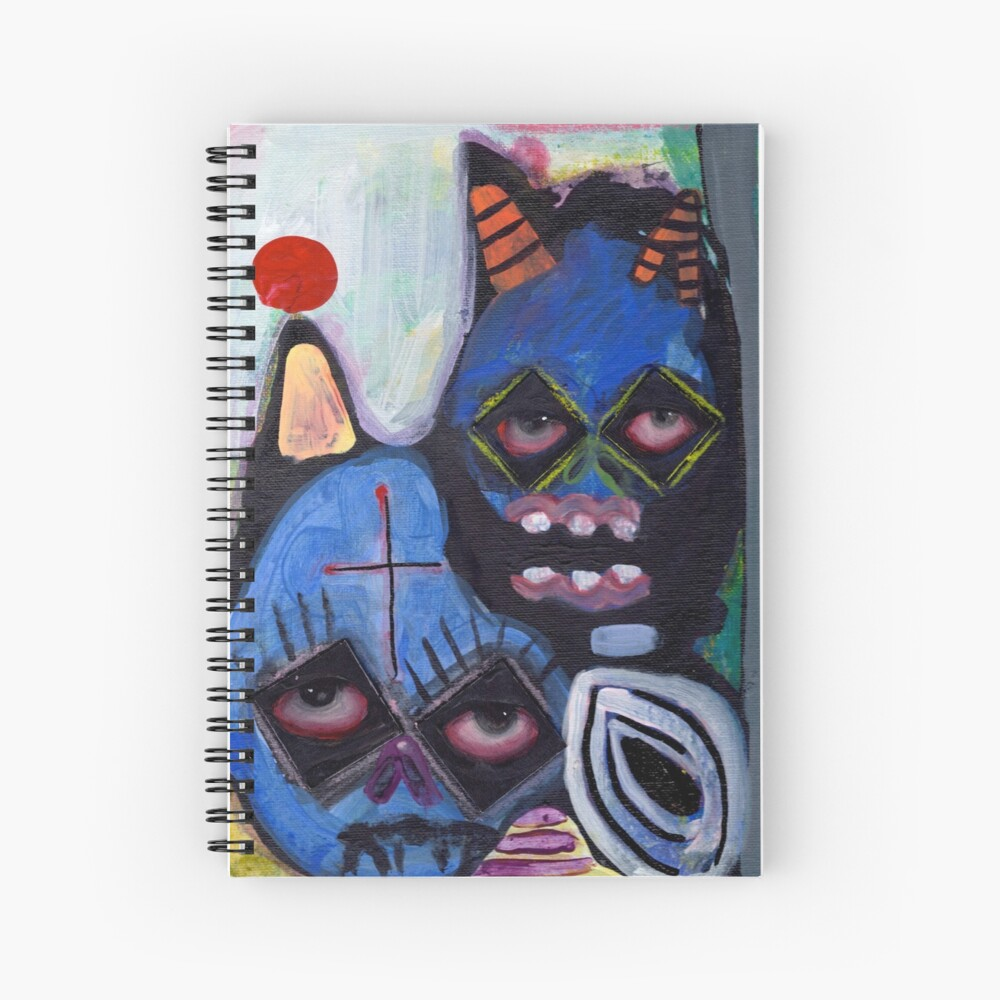 toxic Spiral Notebook
