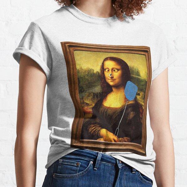 Mona Lisa parody Classic T-Shirt