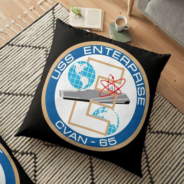 USS Enterprise (CVAN-65) Big E Floor Pillow