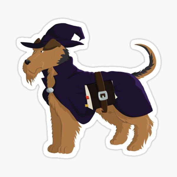 Wizard Welsh Terrier Sticker