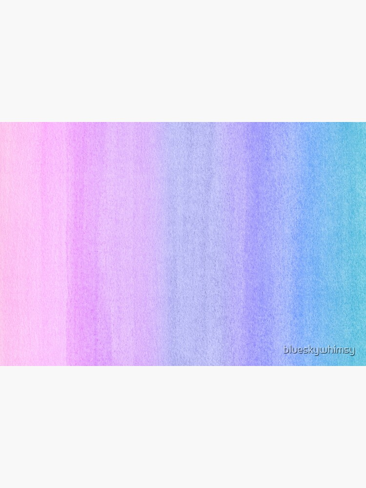 Colorful Ombre Abstract Watercolor Pattern by blueskywhimsy